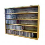 The Wood Shed 503-3 U Solid Oak CD Cabinet, Unfinished