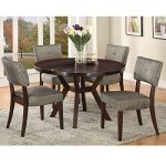 Metro Shop Drake Espresso Finish Side Chair (Set of 2)
