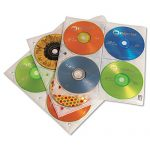 Case Logic® Looseleaf CD Storage Sleeves HOLDER,CD,3 RING,25/PK (Pack of3)