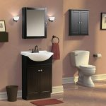 Foremost Columbia 19-in. Espresso Bathroom Medicine Cabinet