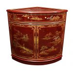 Oriental Furniture Corner Cabinet