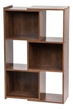 IRIS 30-Inch Expandable Bookcase, Dark Brown