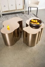 Statements by J S5111 Kate Chrome Coffee Table