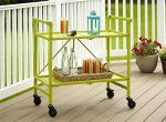 Kitchen Cart Folding Utility Serving Table ~ Indoor Outdoor RV Grilling Camping Tailgating Patio Furniture
