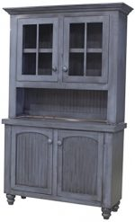 Eagle Modern Country Hutch, 52″, Soft White Finish