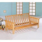 Coaster Home Furnishings 4838 Casual Futon Frame, Natural