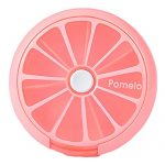 Cute 7 Day Pill Reminder Medicine Storage Container Pill Case, Pink