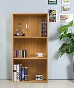 【Lowest Price FIRE SALE】Merax Sturdy Carb Board Office Cabinet ,Book Case ,Beech Color