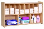 Steffy Wood Products Wall Diaper Shelf