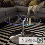 Metro Shop INSPIRE Q Lorin Cocktail Table Modern LED Accent Table