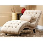 Metro Shop Abbyson Living Soho Cream Fabric Chaise