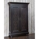 Ambella Home Collections 02197-260-001 Scrolling Gate Cabinet