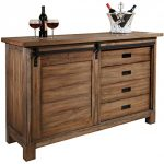 Howard Miller Homestead Wine and Bar Storage Cabinet