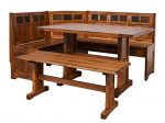 Sunny Designs Sedona Breakfast Nook Set with Side Bench