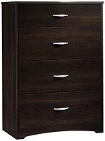 Chest of Drawers – Dresser Cabinet Home Organizer Bedroom Living Room Office Storage Knobs (Cinnamon Cherry)