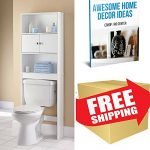Standing Cabinets For Bathroom Over The Toilet Shelving And Wall Units Storage Cabinet Door White Wood Space Saver & EBOOK AWESOME HOME DECOR IDEAS.