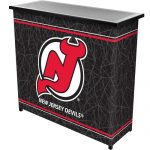 NHL New Jersey Devils Two Shelf Portable Bar with Case