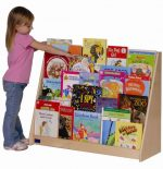 Steffy Wood Products Book Storage Unit