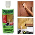 Kitchen Cabinet Degreaser: Cleans Grease Removes Residue – Non-Toxic
