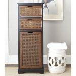 Safavieh American Home Collection Batley Dark Brown Storage Cabinet