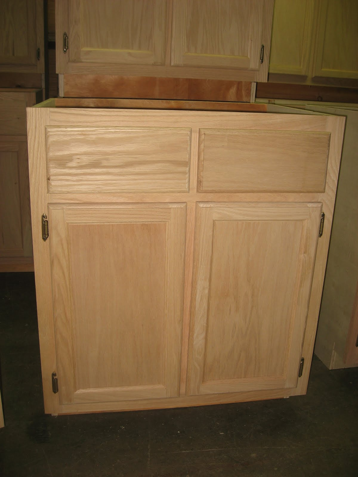 Cheap Unfinished Kitchen Cabinets